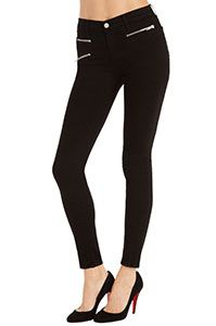 So cute, every girl has to have a pair of black skinny jeans