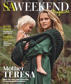Pregnant Teresa Palmer graces the cover of SA Weekend Magazine with her cherubic son Bodhi Rain.