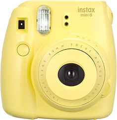 Fujifilm Instax Mini 8 Instant Camera (Yellow) Fujifilm Instax Mini Instant Yellow is one of the best online products in Photo category in USA. Click below to see its Availability and Price in YOUR country.