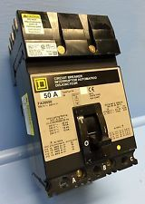 Square D I-Line FA36050 50 Amp Circuit Breaker 600V S2 Type FA-36050 50A IAD. See more pictures details at http://ift.tt/1UBvd7R