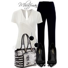 Black and White 4 - Polyvore