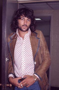 A gorgeous 1973 image of Deep Purple's Ian Gillan