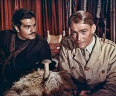 "Omar Sharif y Peter O'Toole en ""Lawrence de Arabia"", 1962"