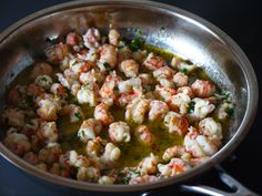 Sautéed Langostino Lobster with Garlic Herb Butter recipe from Mince Republic. Lobster Recipes, Fish Recipes, Seafood Recipes, Pasta Recipes, Great Recipes, Dinner Recipes, Cooking Recipes, Favorite Recipes, Healthy Recipes