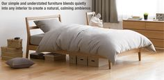 solid ash twin bed from Muji Muji Bed, Kids Bedroom Boys, Boy Room, Kids Room, Muji Style, Childrens Beds, Cabin Homes, Bedroom Furniture, Terraced House
