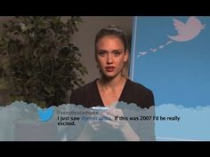 tweet responsibly!! Celebrities Read Mean Tweets #4. Watch them all! Soo funny