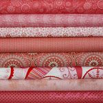 Color Stack - Pink Grapefruit FQs [5FQ-PinkGrapefruit-FQ] - $23.95 : Pink Chalk Fabrics is your online source for modern quilting cottons and sewing patterns., Cloth, Pattern + Tool for Modern Sewists