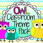 This HUGE, 118-page pack includes everything you need to deck out your classroom in an adorable owl theme! Changing up your classroom decor is a gr...