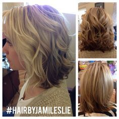 The perfect haircut for summer. Shoulder length with a slight a-line & long layers. Hair by Jami Leslie Tiger Tail Salon- Carlsbad, CA #hairbyjamileslie