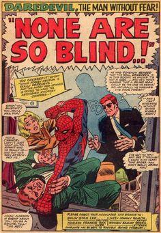 Daredevil and The Amazing Spider-Man, art by John Romita (Sr.)