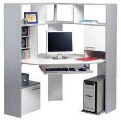 Apollo Corner Computer Desk: Amazon.co.uk: Kitchen & Home
