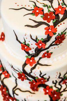 wedding cakes svadobne torty pinterest cherry blossom cake