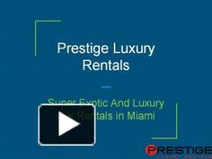 Find here the best cars in the world for rent through Exotic Car Rental Miami. All types of finest cars available in the modern era are available here. You cannot take your luxury car anywhere, but take a rental here and enjoy your days.