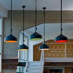 In Es ArtDesign Cyrcus Lavagna Pendant Light-Black-Turquoise Contemporary Pendant Lights, Modern Lighting, Pendant Lighting, Contemporary Design, Dining Room Light Fixtures, Dining Room Lighting, Black Pendant Light, Light In, Home Decor