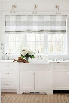 Beautiful House | How to Decorate With Buffalo Check Fabric | http://beautifulhouse.com.au