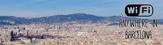 Looking for the best places to connect to WiFi in Barcelona