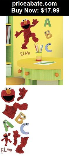 9 elmo sesame street characters vinyl wall decal sticker for Elmo wall mural