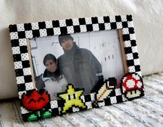 What a great idea! Never thought to make a frame before!