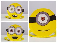 How to make easy Minion hats