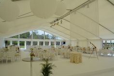 Marquee Hire in Oxford - Florey Marquee
