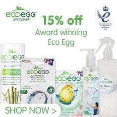 Ecoegg Laundry - 15% Off - https://ethicalrevolution.co.uk/ecoegg-laundry-15-off/  @biggreensmile