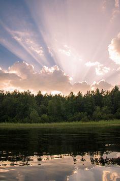 Abend auf Ladoga. Karelia, Harvey von Svetlana Korobova Display, Mountains, Nature, Travel, Pictures, Russia, Floor Space, Naturaleza, Viajes
