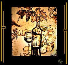 wine decor, wine,husband gift, wife gift, hostess gift, wine art, gift, wine, grapes, art, wine, grapes, kitchen art Five Year Anniversary Gift, Wine Decor, Wine Art, Kitchen Art, Gifts For Husband, Hostess Gifts, Painting, Painting Art, Paintings