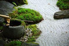 手水鉢 永観堂 方丈庭園 京都 風情