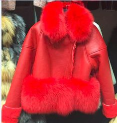 Sale US $490.77  ADD WISH LIST  Luxury original Genuine Sheepskin Leather jackets, celebrity brand real suede fur Coats  winter real fur coats  . Get discount for product: Buy Leather Jacket.