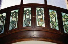 Villa Majorelle (Jika) - Nancy - 1901/1902 - La 1ère Maison entièrement de Style Art Nouveau autant ses extérieurs que l'aménagement intérieur - Vitraux
