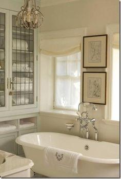 White antique bathroom by lori.blankenship.988