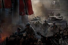 Enemy Front Game on Digital Art Served Military Guns, Military Art, Enemy Front, Big Lego, Military Drawings, German Soldiers Ww2, World Of Tomorrow, War Image, Military Pictures
