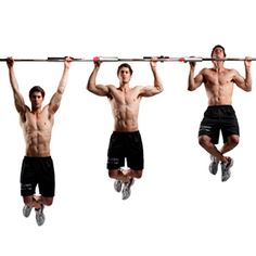 Pull-Up Challenge: Your challenge is to get your chin over the bar 25 times without pausing :: Men's Health