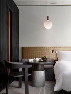Между Западом и Востоком: стильный отель Nobu в Лондоне   Пуфик - блог о дизайне интерьера