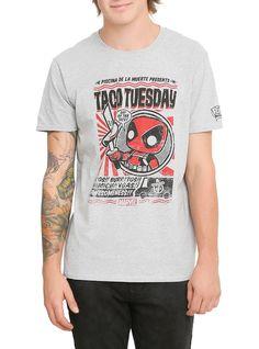 Funko Marvel Pop! Deadpool Taco Tuesday T-Shirt Hot Topic Exclusive | Hot Topic