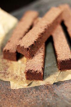 Bâtonnets Fondants au Banania (Ou autre Chocolat en Poudre)