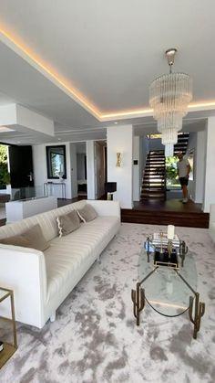 Mansion Interior, Apartment Interior Design, Luxury Interior Design, Interior Architecture, Modern Basement, Futuristic Interior, Interior Garden, Luxury Homes, Beautiful Homes