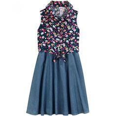 Fans de las flores, este vestido es perfecto para ustedes. Ordénalo aquí y llegará a la puerta de tu casa: http://www.elpalaciodehierro.com/eboutiques/eboutique-justice/productos-justice/36980681-vestido.html