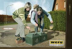 Noise Protection Windows by Weru Campaign - Glass Container