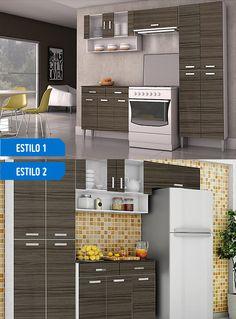 ¡Los muebles de tu cocina pueden crear variados ambientes dependiendo de como los organices! #SodimacHomecenter