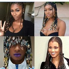"4,641 Likes, 129 Comments - The Industry On Blast (@theindustryonblast) on Instagram: ""#blasties will y'all be rocking these braids and beads this summer? #iob #naturalhair """