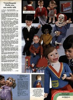 Toy joy: 50 years of toys from the Sears Wish Book - WhizzPast Christmas Catalogs, Christmas Books, Ventriloquist Doll, Christmas Accessories, Old Games, Puppets, Childhood Memories, Children, Kids