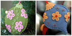 Deshilachado: Adornos para el árbol de Navidad / Ornaments fo Christmas tree