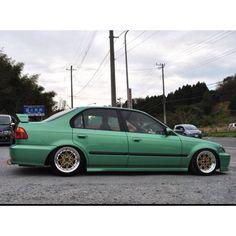 Honda Civic Vtec, Civic Jdm, Honda Civic Sedan, Honda Cars, Import Cars, Japan Cars, Jdm Cars, Top Of The World, Amazing Cars