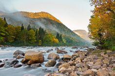 Quebec, Jacques-Cartier National Park (Parc national de la Jacques-Cartier), north of Quebec City.