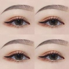 Makeup korean eyeliner 37 New Ideas Make-up Korean Eyeliner 37 Neue Ideen Korean Makeup Look, Korean Makeup Tips, Korean Makeup Tutorials, Eye Makeup Tips, Makeup Inspo, Makeup Inspiration, Beauty Makeup, Makeup Ideas, Korean Makeup Tutorial Natural