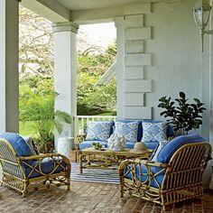 I dream of cane furniture...