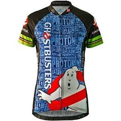 Brainstorm Gear 2015 Women s Ghostbusters Slimer Cycling Jersey - GBS-W 72a0cb917
