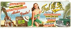 Weekend festival: Feel the 50s August 30th and 31st 2014 Nolenspark Venlo (NL) Entry free!
