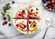 Watermelon Pizza mak